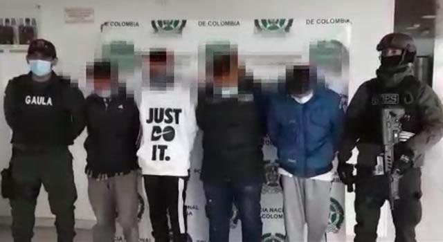 [VIDEO]  Capturan presunto líder de la autodenominada primera línea de Soacha