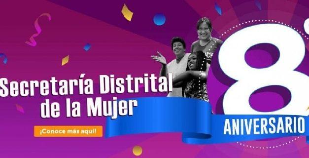 Secretaría Distrital de la Mujer celebra sus primeros ocho años