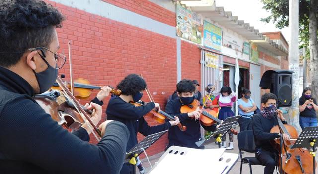 Academia Fundación Frans Bruggen, acercando la música a los habitantes de la comuna 1 de Soacha