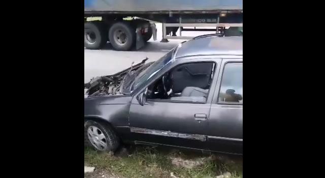 [VIDEO] Grave accidente en el sector de Chusacá, Cundinamarca