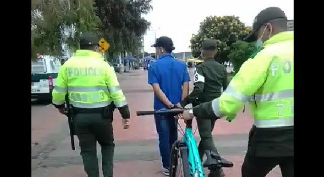 [VIDEO]  Bicicleta robada en Soacha fue recuperada en Suba