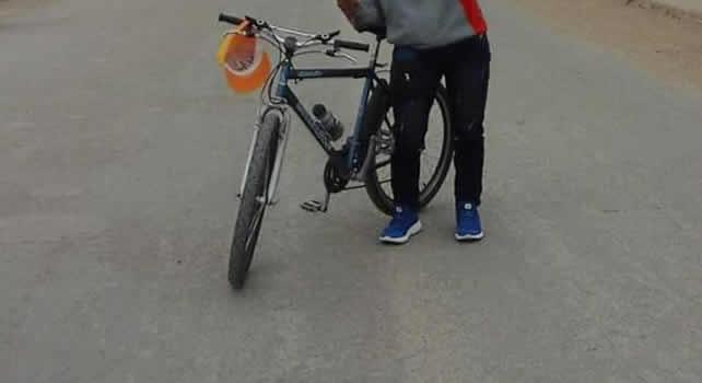Otra bicicleta que se roban en Soacha