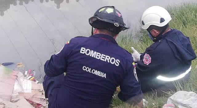 [VIDEO] Hallan cuerpo de un hombre en el Canal Tibanica de Soacha