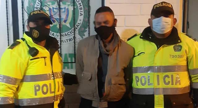 Capturan persona con marihuana en El Tropezón, Soacha