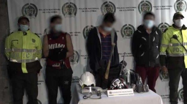 Capturado reconoce que le pagan por cometer desmanes y atacar a la fuerza pública en Bogotá