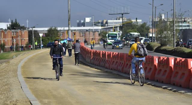 Más de 500 policías custodiarán ciclorutas de Bogotá y municipios aledaños