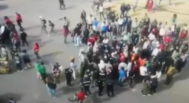 Vandalismo cansó a comerciantes de Bogotá, propietarios de negocios encaran a encapuchados