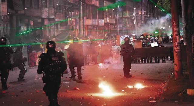 Violencia volvió a los portales de Suba y Américas, 8 capturados