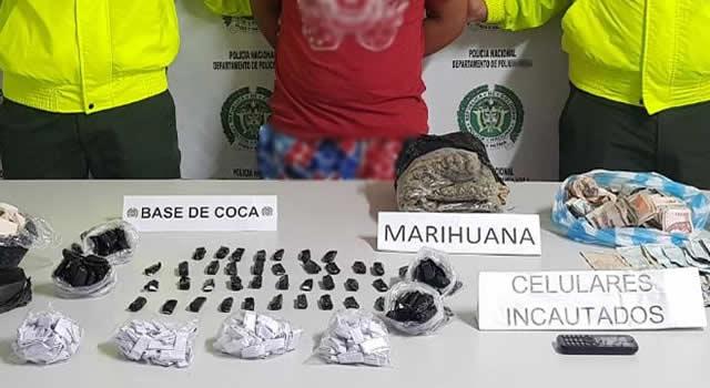 Delta traía cargamentos de estupefacientes y los distribuía en Bogotá, Soacha y Sibaté