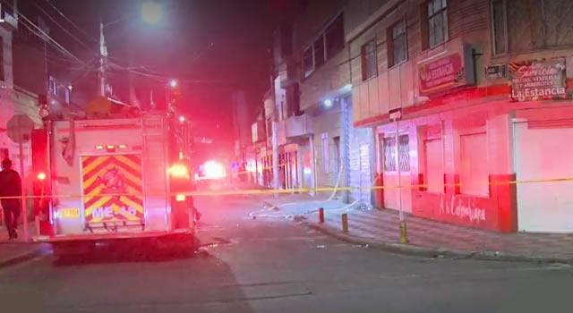 Explosión en fábrica de químicos deja tres heridos en Bogotá