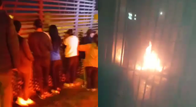 [VIDEO] Emergencia en celdas de estación de Policía de Soacha, hubo fuego y caos