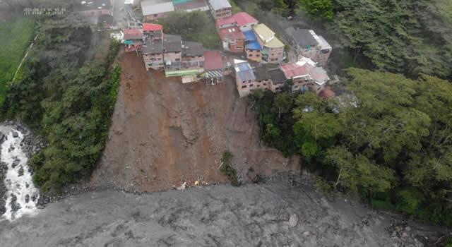 Van 176 personas afectadas por emergencia invernal en Guayabetal, Cundinamarca