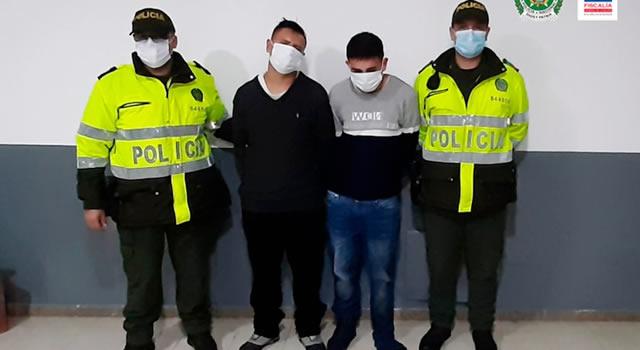 A la cárcel señalados de atracar un bus de servicio público en Cundinamarca