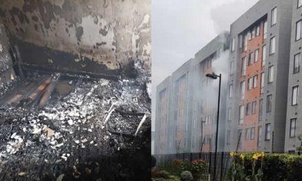 [VIDEO] Incendio en apartamento de Parque Campestre, Soacha