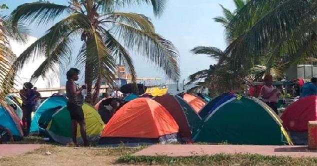 Iglesia y Procuraduría piden atención a migrantes en Necoclí
