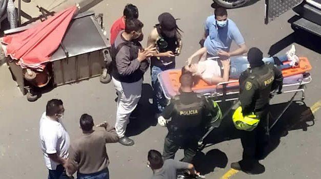 El desorden en Parque Campestre, Soacha, origina accidentes