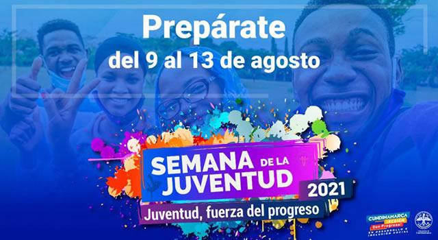 Comienza Semana de la juventud 2021 en Cundinamarca