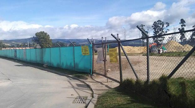 En Soacha comienza construcción de apartamentos en terreno donde se amplía una laguna