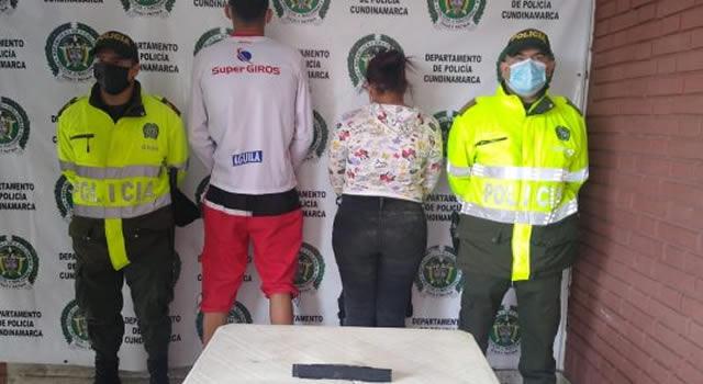Capturan a dos venezolanos que intentaban poner dispositivo en cajero automático de Facatativá