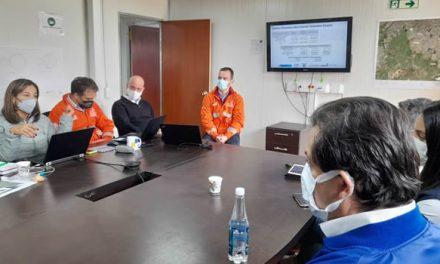 Verifican avances en la construcción de la PTAR Canoas en Soacha