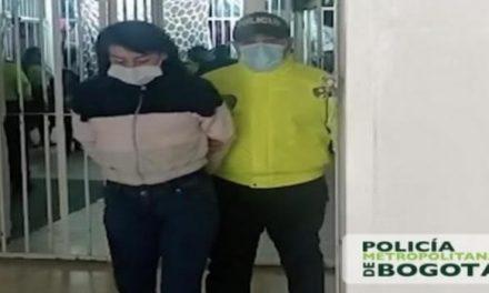 'La Paisa' lideraba atracos a supermercados de Bogotá, policía la capturó
