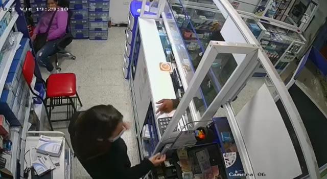 [VIDEO] Nuevo atraco con arma de fuego en el centro de Soacha