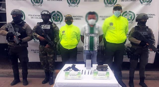 Dos capturados en Soacha, Cundinamarca