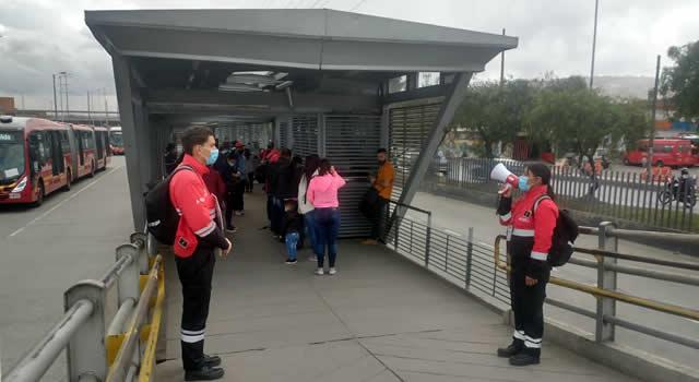 Reabren estación Transmilenio de San Mateo en Soacha