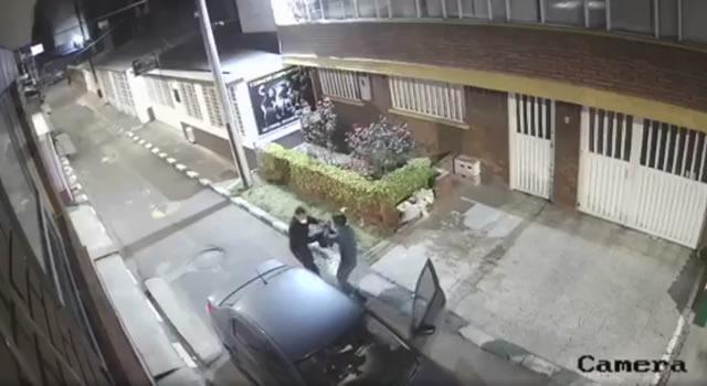 [VIDEO]  Conductor de Beat se enfrenta a ladrones armados en Bogotá y evita que le roben su carro
