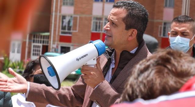 """""""Hacer obras sin el pago del predial es imposible"""": alcalde de Soacha"""