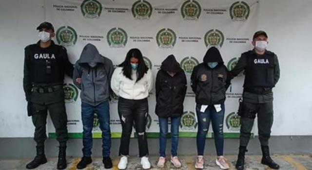 Extorsionaban en Guaduas, Girardot y Soacha, Cundinamarca, pero los capturaron