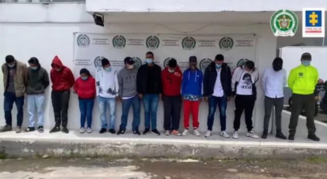 Judicializan a 'Los Juanos', señalados de quemar el peaje El Roble y la estación de policía de Zipaquirá