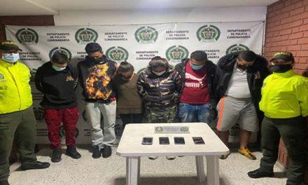 Desarticulan banda 'Los Pepones' en Facatativá, Cundinamarca