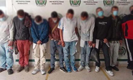 Caen Los Demoledores, delincuentes que extorsionaban a transportadores en Bogotá