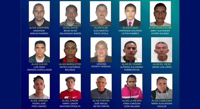 Revelan nombres de los 15 más buscados por robar en Transmilenio