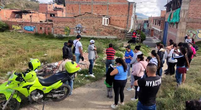 Otro intento de los 'tierreros' por tomarse lote recuperado en La Veredita, Soacha