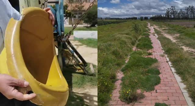 [VIDEO]  El abandono acaba con millonaria inversión a sendero peatonal y parque San Nicolás de Soacha