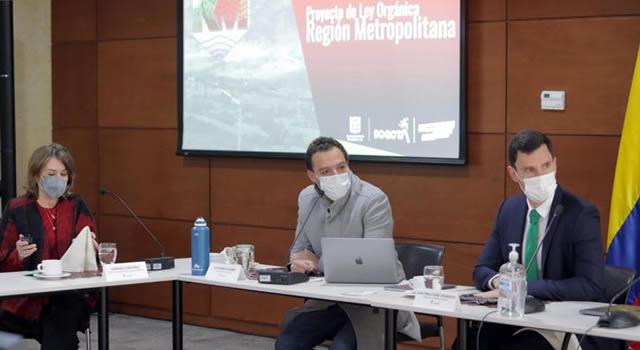 Región Metropolitana Bogotá-Cundinamarca comenzaría a funcionar en marzo de 2022