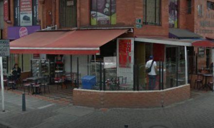 Dos venezolanos atracaron a feligreses que comían en restaurante de Bogotá