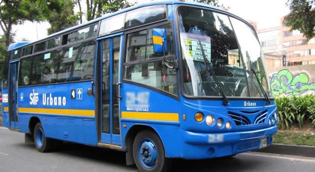 Disparan a conductor del SITP en medio de un atraco en Bogotá
