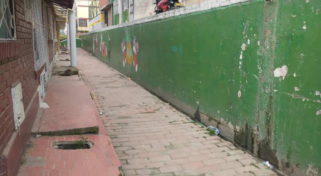 Santillana, otro barrio de Soacha con filtración de aguas residuales