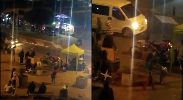 ¡Sin control! Parranda, ruido y desorden en plena zona residencial de Ciudad Verde