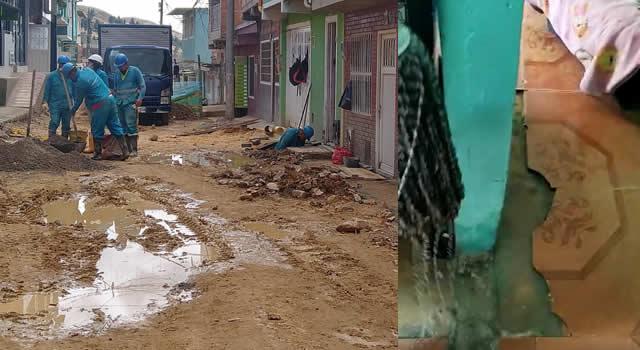 [VIDEO] Aguas residuales invaden viviendas en el barrio Villa Sandra de Soacha