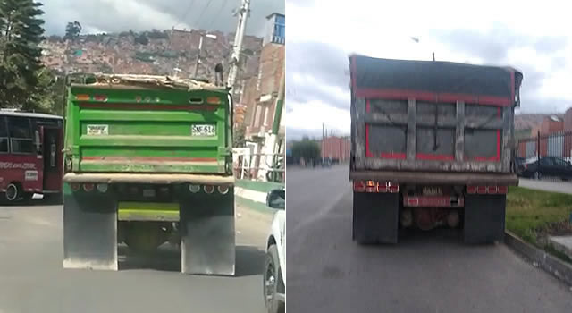 [VIDEO]  Volquetas con sobrepeso transitan por vías internas recién pavimentadas en Soacha