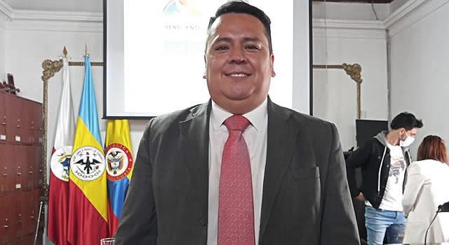 William Moncada es nuevo concejal de Soacha