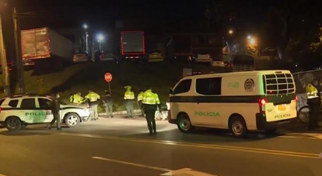 Delincuentes disparan a sangre fría  a un Policía que pidió requisa en Bogotá