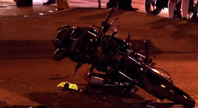 Motociclista murió al chocar con una tractomula en Bogotá