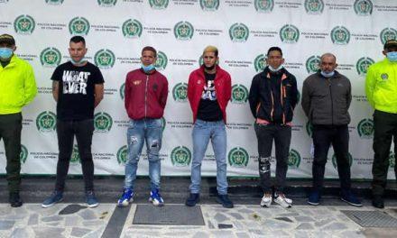 Cayó 'Arcadia', banda que robó cerca de $300 millones en cajeros automáticos de Bogotá