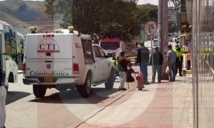 Asesinan a una persona con arma de fuego en Soacha
