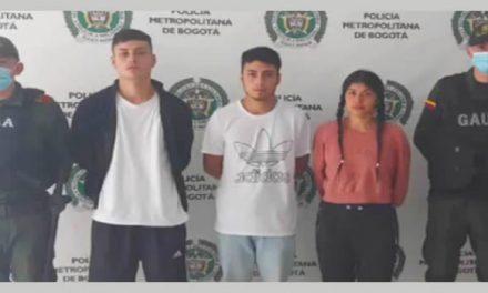 Rentan apartamento para extorsionar y robar a su dueño en Bogotá, policía los captura
